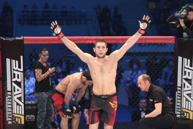 Ikram Aliskerov (© Brave Combat Federation)