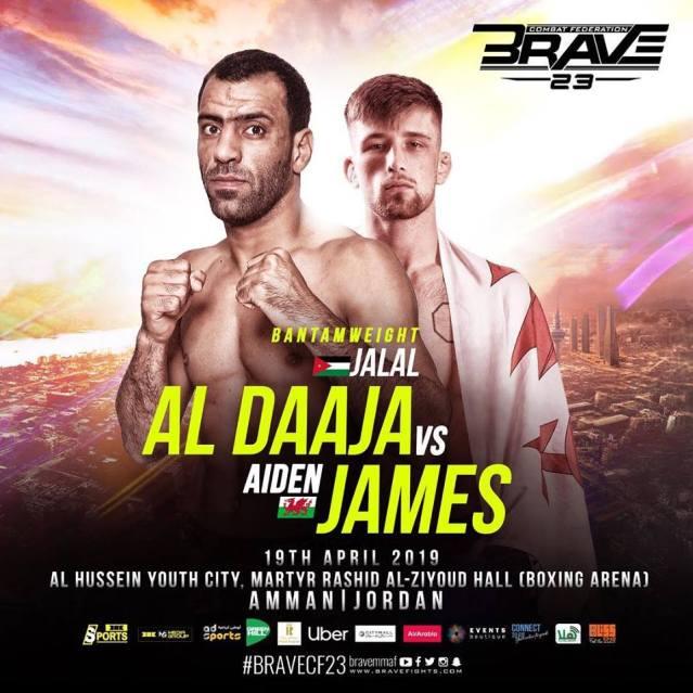 Jalal Al Daaja, Aidan James