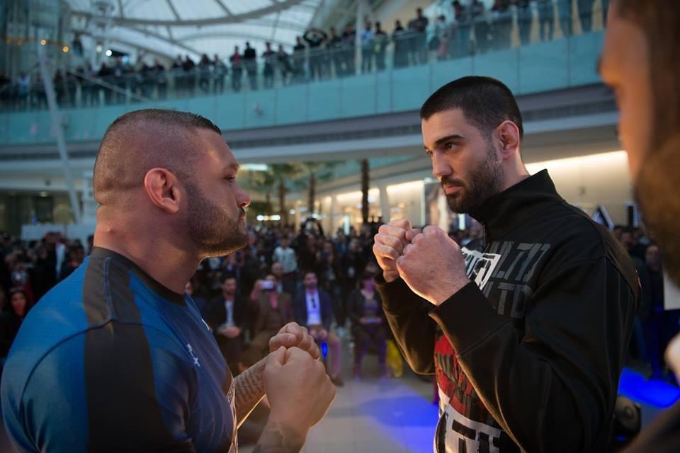 Undefeated Jordanian MMA fighter Hashem Arkhagha knocks out Jeremy