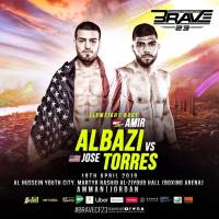 Jose Torres breaks Amir Albazi's undefeated record at 'Brave 23: Pride and Honor' in Jordan