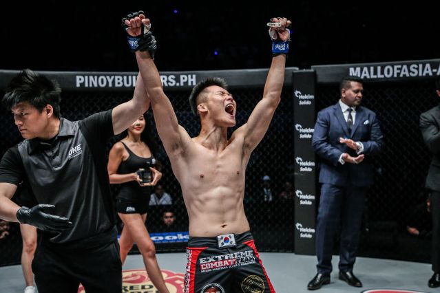 Kemp Cheng, Kwon Won Il (© ONE Championship)