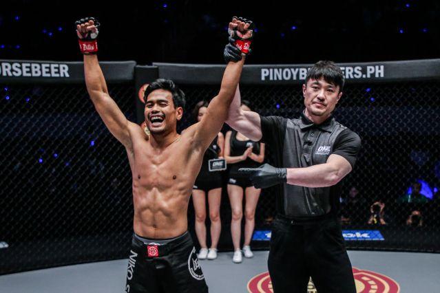 Niko Soe, Yoshinori Umeki (© ONE Championship)