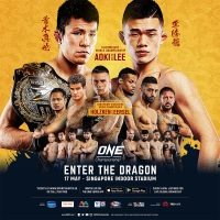 'ONE: Enter the Dragon' fight card: Shinya Aoki vs Christian Lee, Nieky Holzken vs Regian Eersel