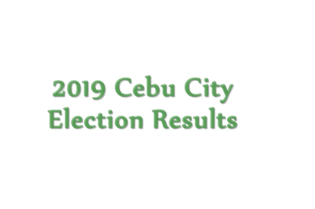 2019 Cebu City election results