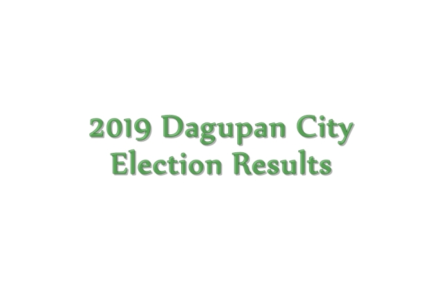 2019 Dagupan City election results