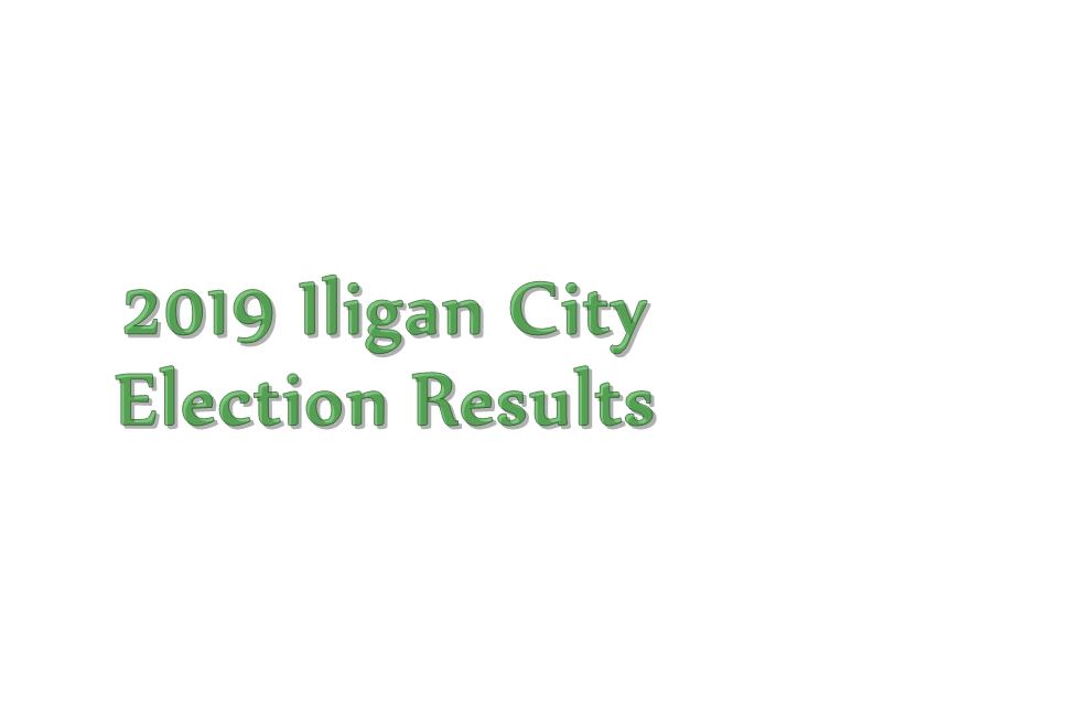 2019 Iligan City election results