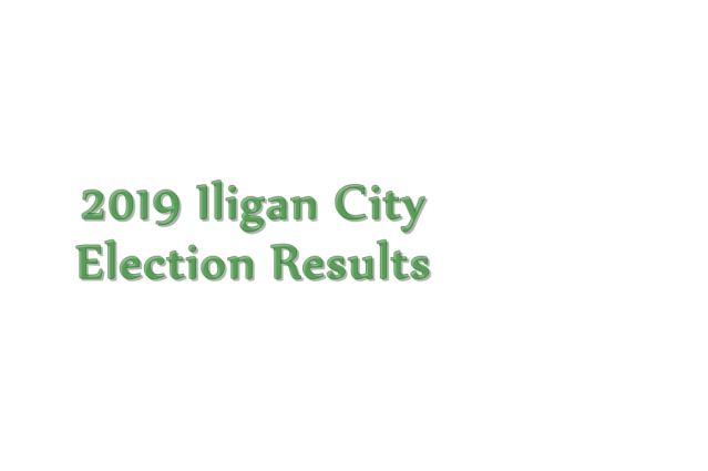 2019 Iligan City election results