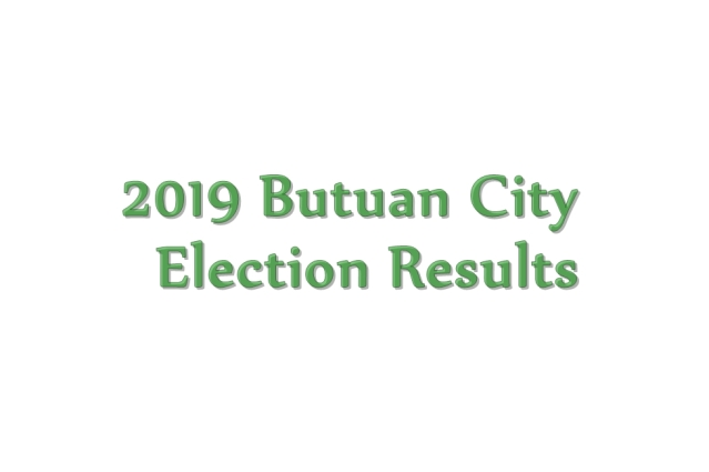 2019 Butuan City election results