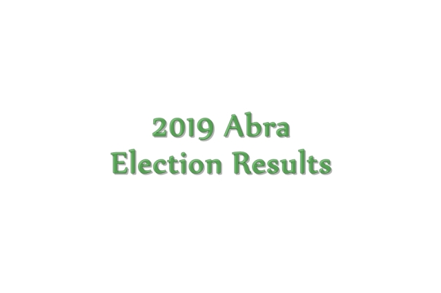 2019 Abra election results