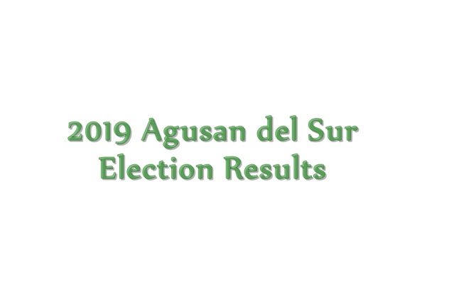 2019 Agusan del Sur election results