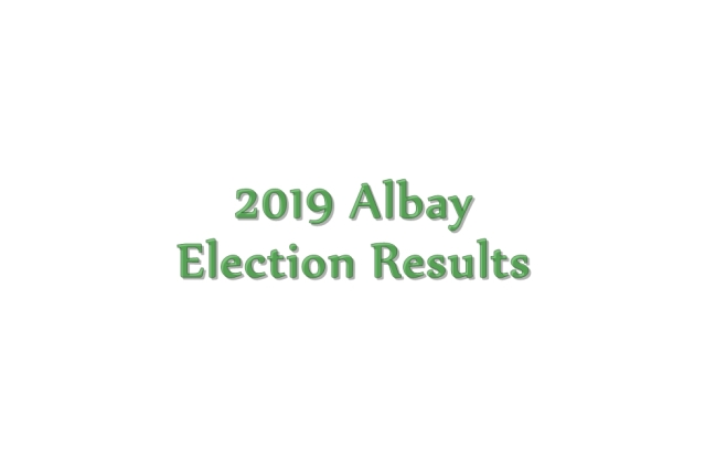 2019 Albay election results