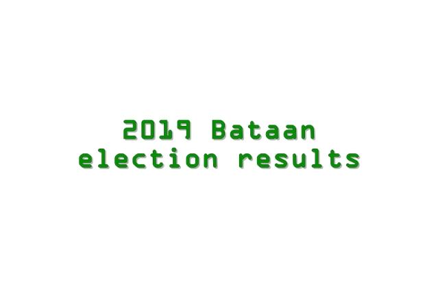 2019 Bataan election results