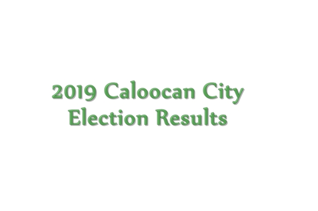 2019 Caloocan City election results