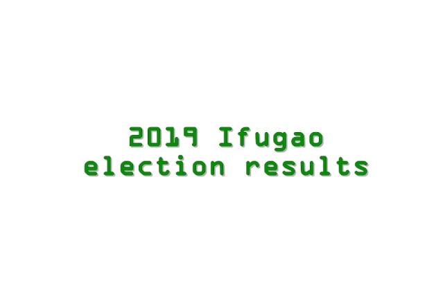 2019 Ifugao election results