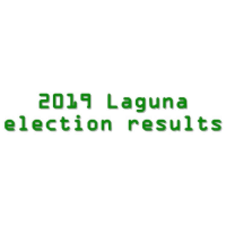 2019 Laguna congressmen, governor, vice governor, board members election results