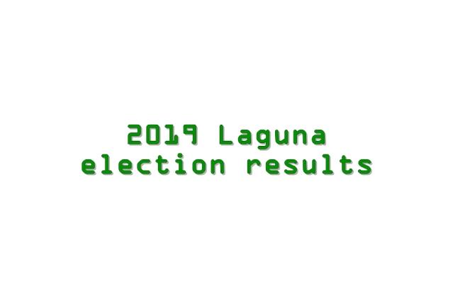 2019 Laguna election results