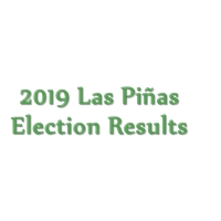 2019 Las Piñas congressmen, mayor, vice mayor, councilors election results
