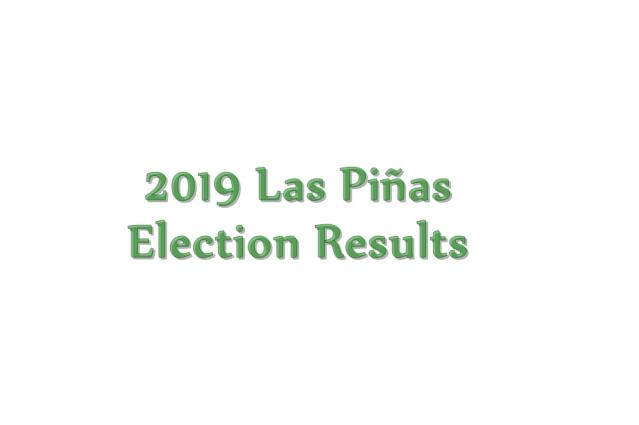 2019 Las Piñas election results