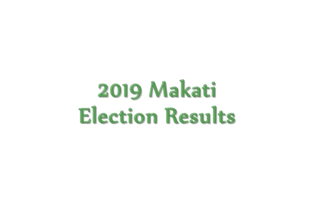 2019 Makati election results