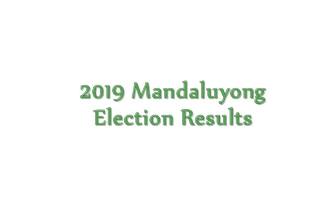 2019 Mandaluyong election results