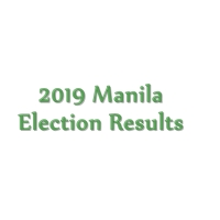 2019 Manila congressmen, mayor, vice mayor, councilors election results