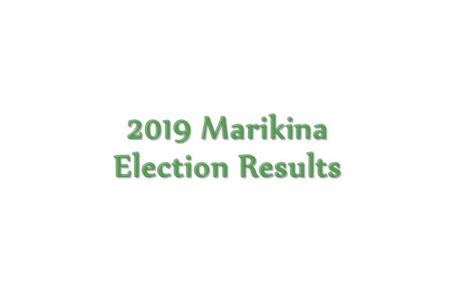 2019 Marikina election results