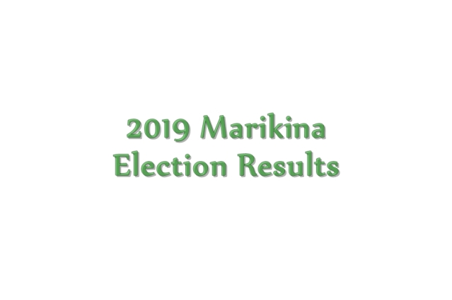 2019 Marikina election results