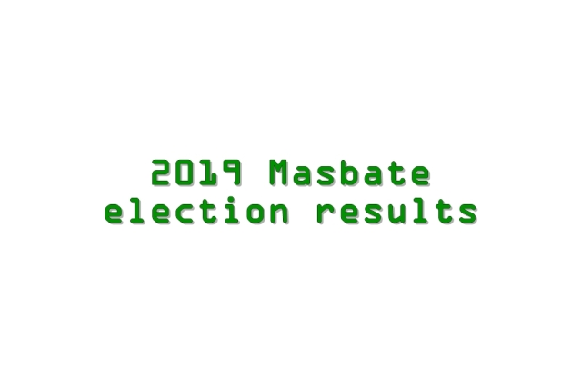 2019 Masbate election results
