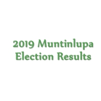 2019 Muntinlupa congressman, mayor, vice mayor, councilors election results
