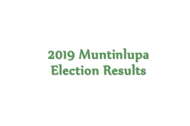 2019 Muntinlupa election results