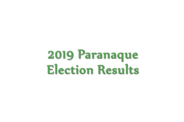 2019 Paranaque election results