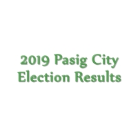2019 Pasig City congressman, mayor, vice mayor, councilors election results