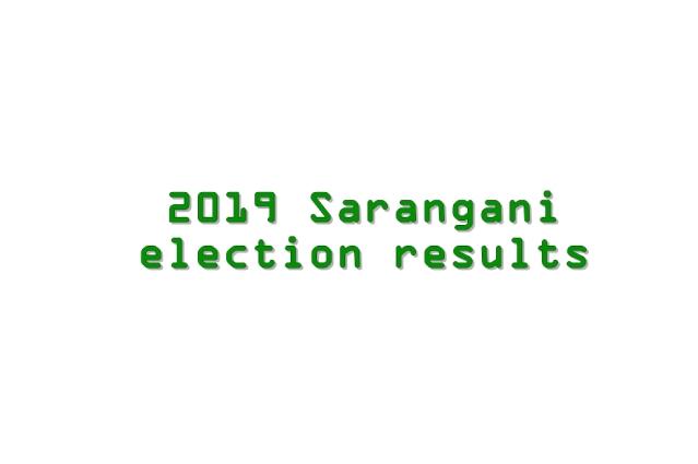 2019 Sarangani election results