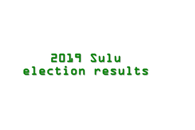 2019 Sulu election results
