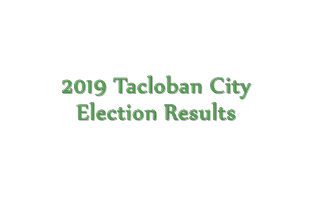 2019 Tacloban City election results