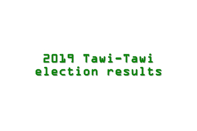 2019 Tawi-Tawi election results