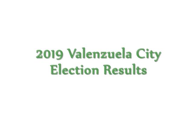 2019 Valenzuela election results