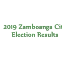 2019 Zamboanga City congressman, mayor, vice mayor, councilors election results: Partial, unofficial from COMELEC