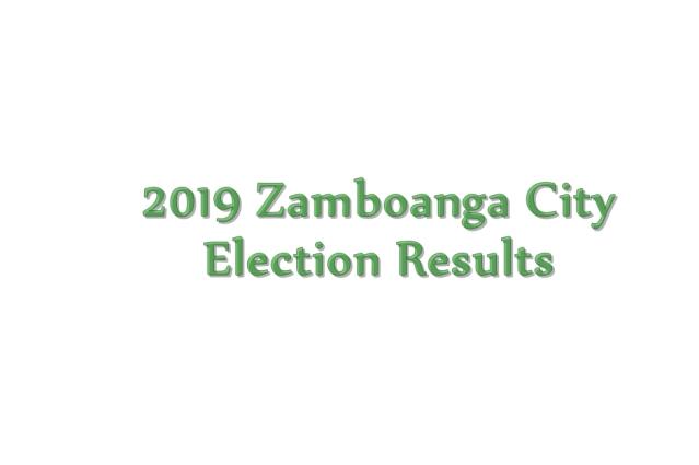 2019 Zamboanga City election results