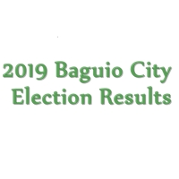 2019 Baguio City congressman, mayor, vice mayor, councilors election results: Partial, unofficial from COMELEC
