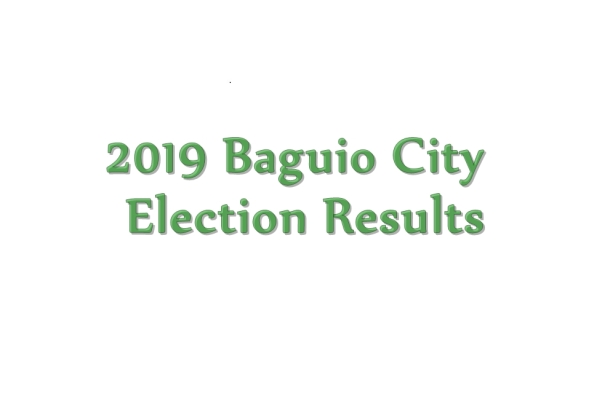 2019 Baguio City election results