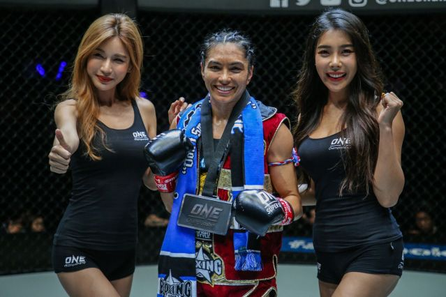 Janet Todd (© ONE Championship)