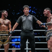 Thailand's Rodlek PK.Saenchaimuaythaigym earns 1st ONE Championship win, decisions UK's Liam Harrison at 'ONE: Legendary Quest' in China