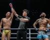 Chen Lei, Kemp Cheng, Anthony Engelen (© ONE Championship)