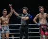Koyomi Atsushima, Kemp Cheng, Kwon Won Il (© ONE Championship)