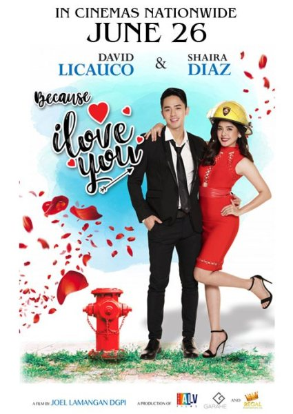 'Because I Love You' poster