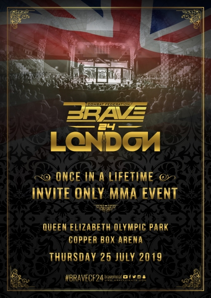 'Brave 24: London' poster