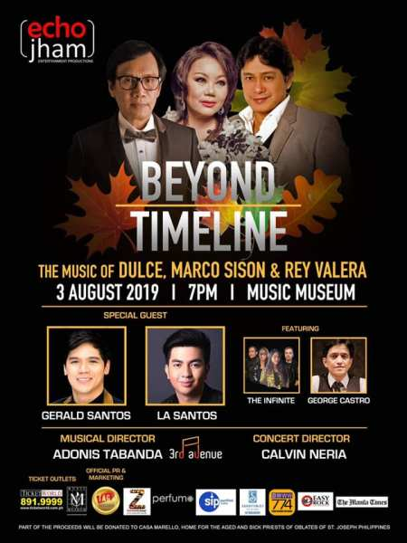 'Beyond Timeline' concert poster