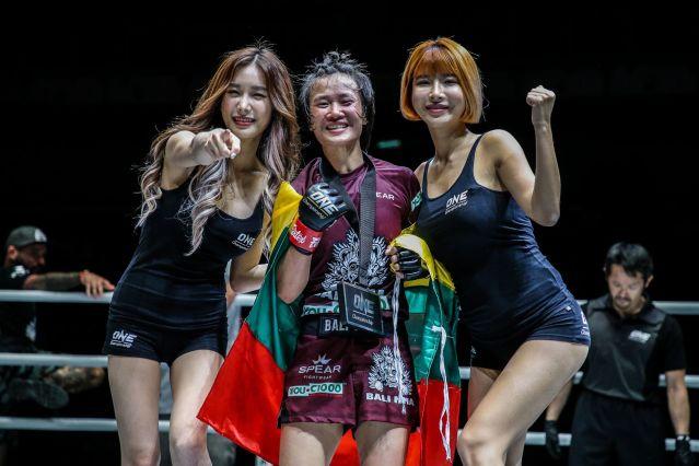 Bozhena Antoniyar (© ONE Championship)