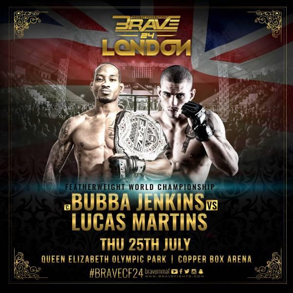Bubba Jenkins, Lucas Martins